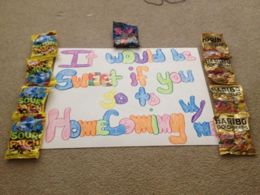 Image result for homecoming proposal idea football