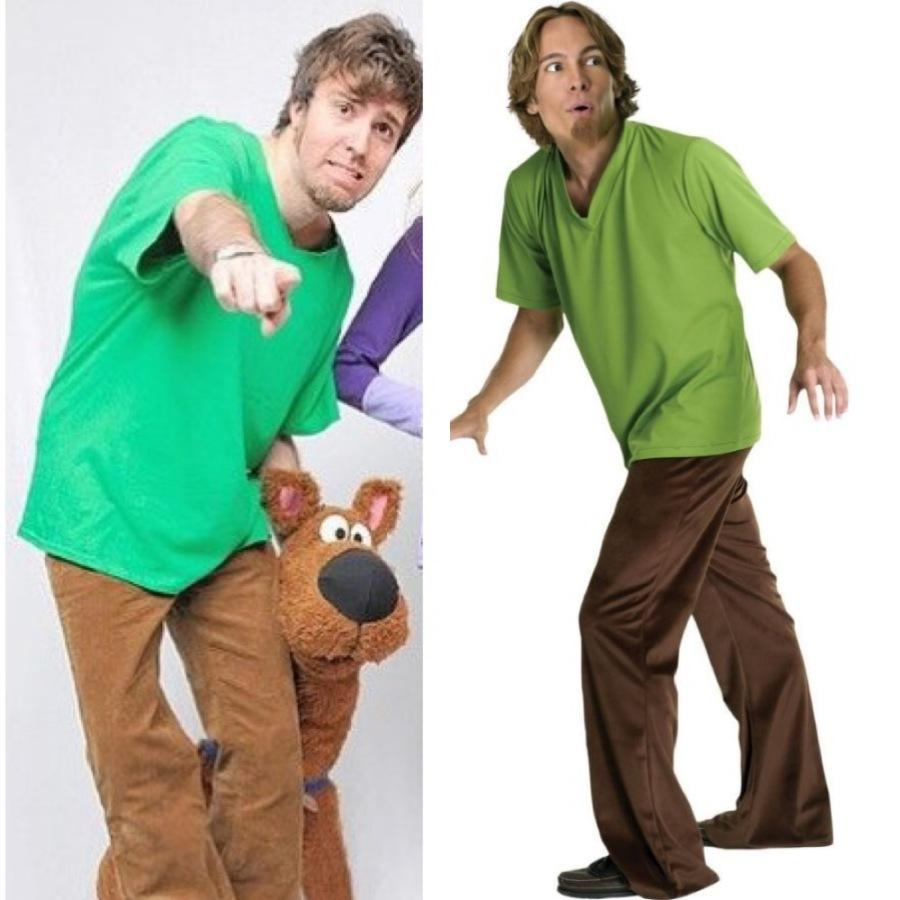 Green Shirt With Brown Pants