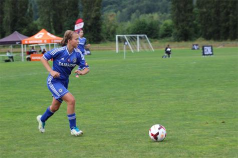 Sophomore Named Co-Captain of Varsity Girls Soccer