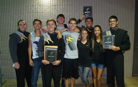 Drumline Takes Home First at  H.E.B Competition