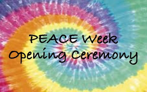 Editorial: PEACE Week Opening Ceremony