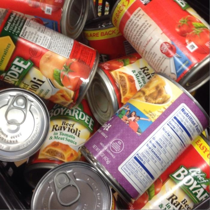 MHS Wins Canned Food Drive