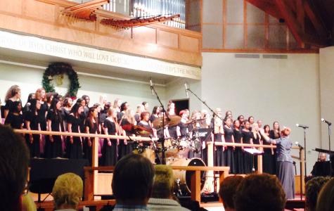 "Mansfield High School Choir Presents ""A Christmas Concert"""