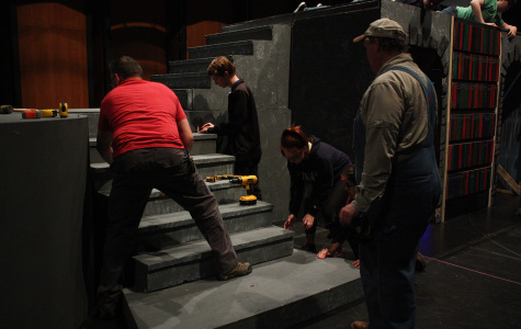"""Theatre Students prepare for """"Beauty and the Beast"""""""