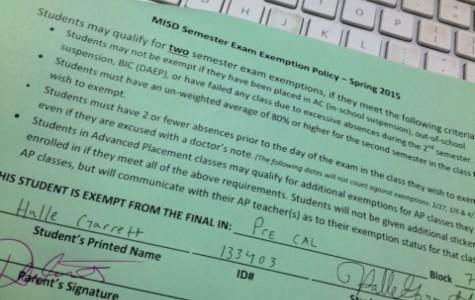Final Exemptions
