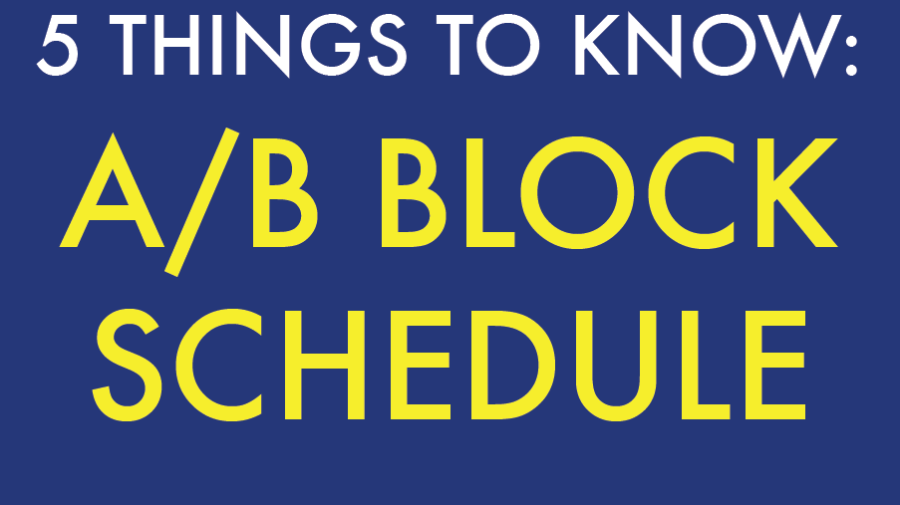 5 Things to Know: A/B Block Schedule