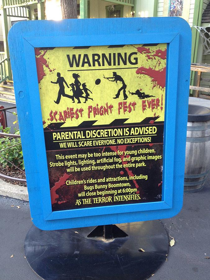 Six Flags Fright Fest Review