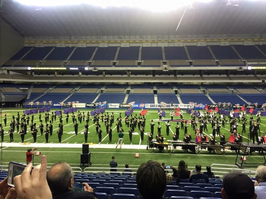Marching Band Competes at BOA Super Regionals