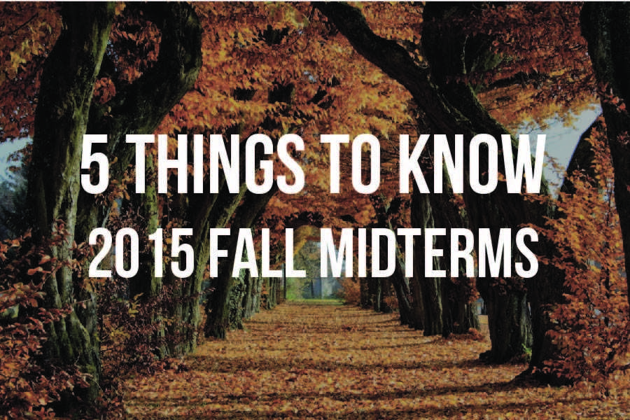 5 Things to Know: 2015 Mid-term Exams