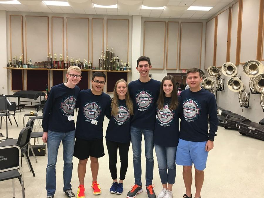 All-State Members Attend TMEA Clinic