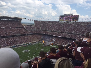 College Football vs. High School Football: Aggie Edition
