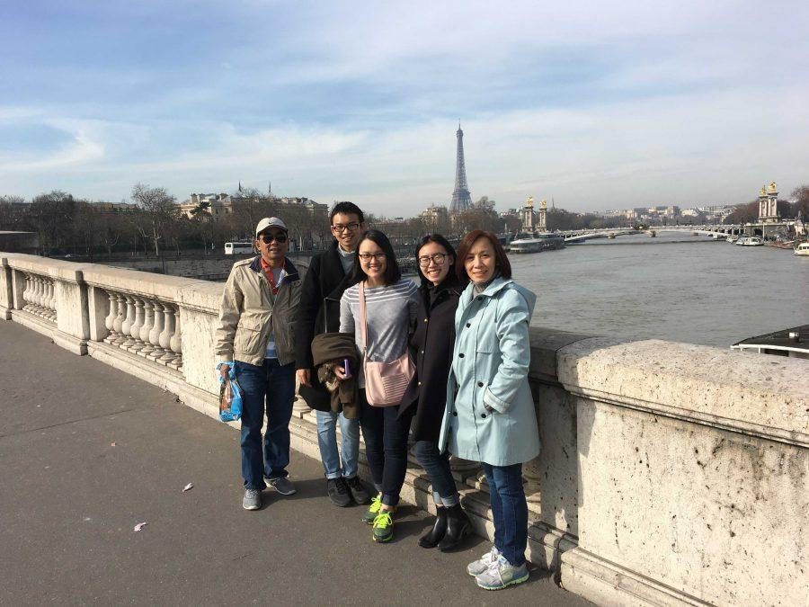 Emmeline+Tran+and+her+family+in+Paris.