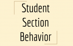 Editorial: Student Section Behavior