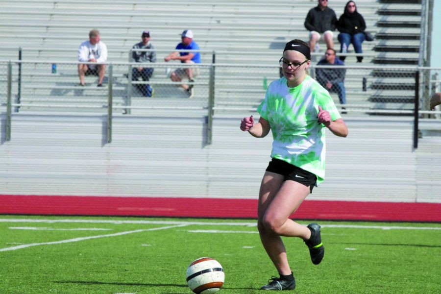 Students Host Football, Soccer Games to Support Maberry