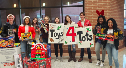Tiger Ambassadors Amps Up Toys for Tots Drive