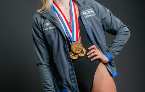 Mechling Strives for Year Four at State Swim Meet