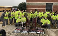 Gold Duster Drill Team Prepares for Nationals Competition