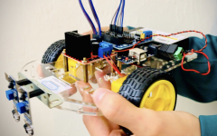 Robotics club builds future